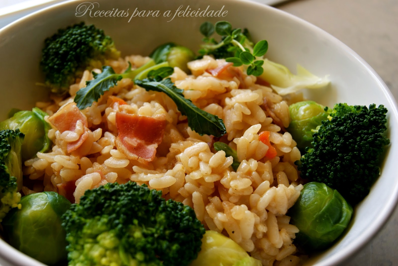 Arroz com Legumes/Confort Food