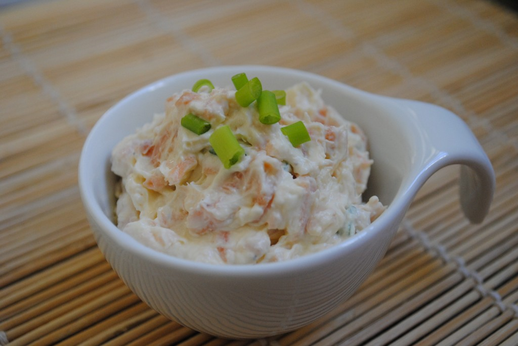 Patê de Salmão e cream cheese