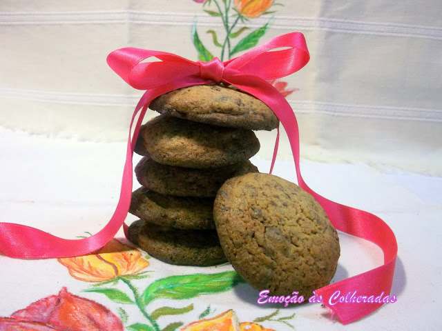Bolachas Com Pepitas de Chocolate
