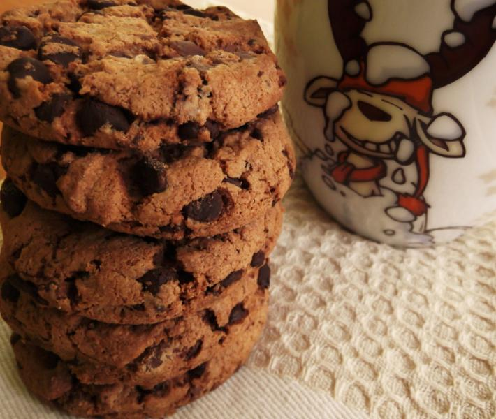 Cookies de Chocolate com Manteiga de Amendoim