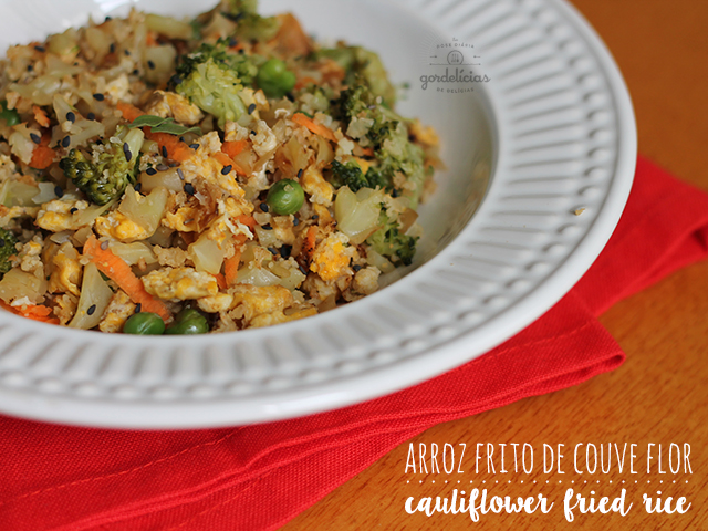 Arroz Frito de Couve Flor (Cauliflower Fried Rice)