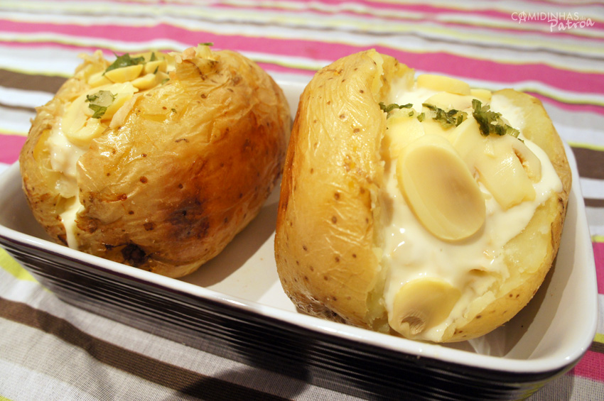 Batata assada (estilo Baked Potato)