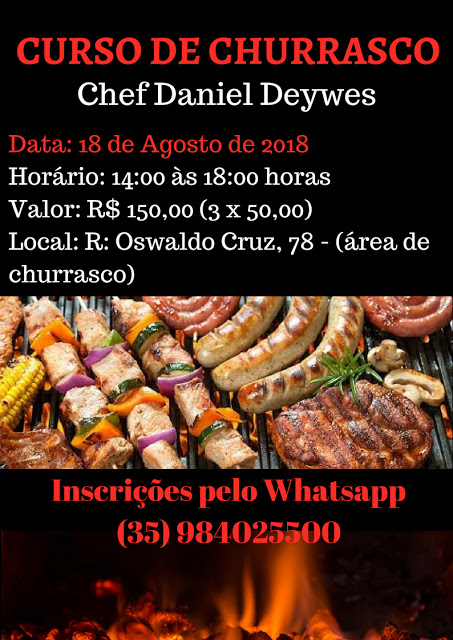 Curso de Churrasco - Chef Daniel Deywes