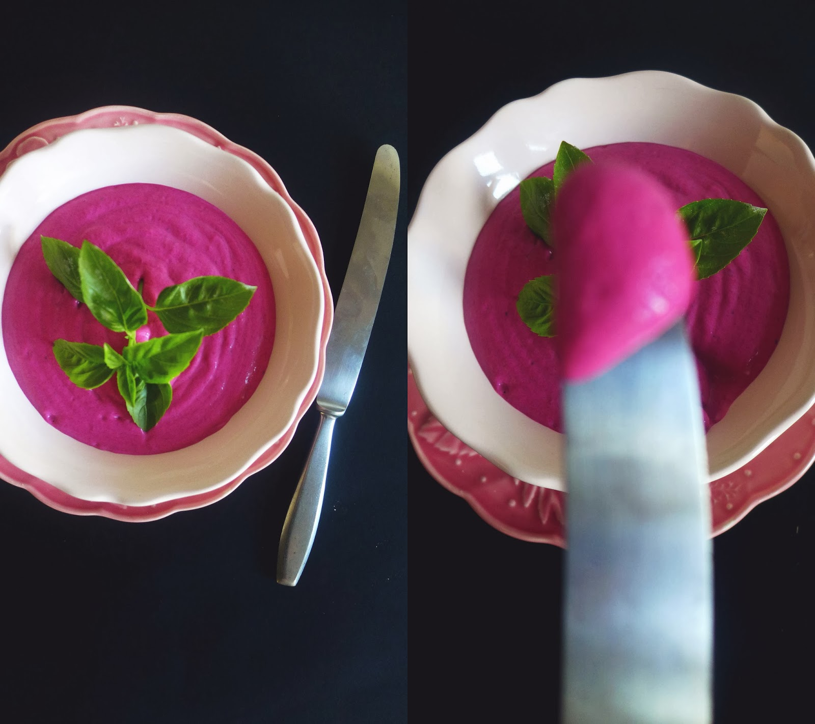 Creme de beterraba/ Beetroot cream