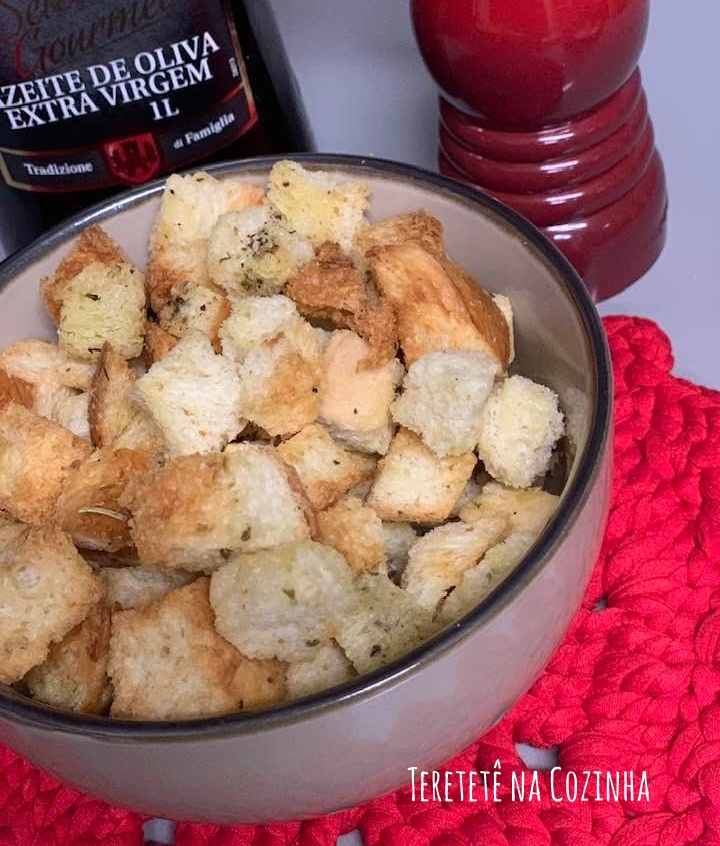 Croutons na Airfryer