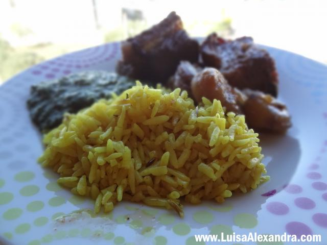 Arroz Basmati com Caril • Easy Rice Oriente, Arroz para Saltear