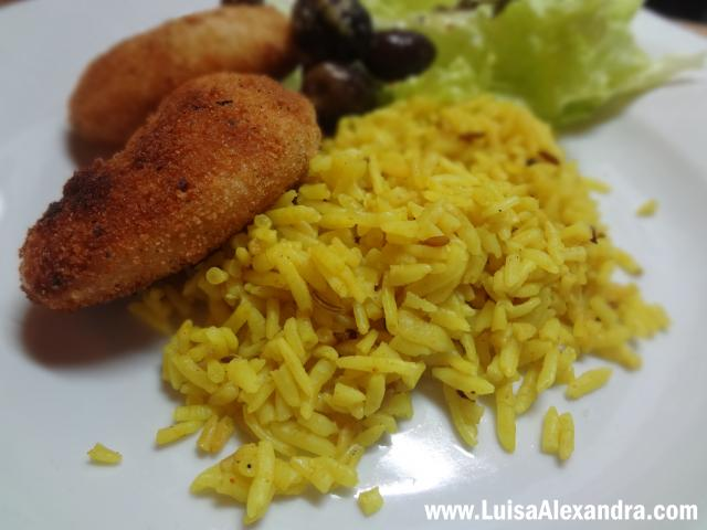 Easy Rice • Arroz para Saltear • Arroz Basmati com Caril • Oriente Rice