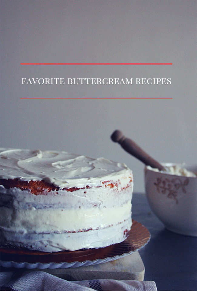 Favorite buttercream recipes