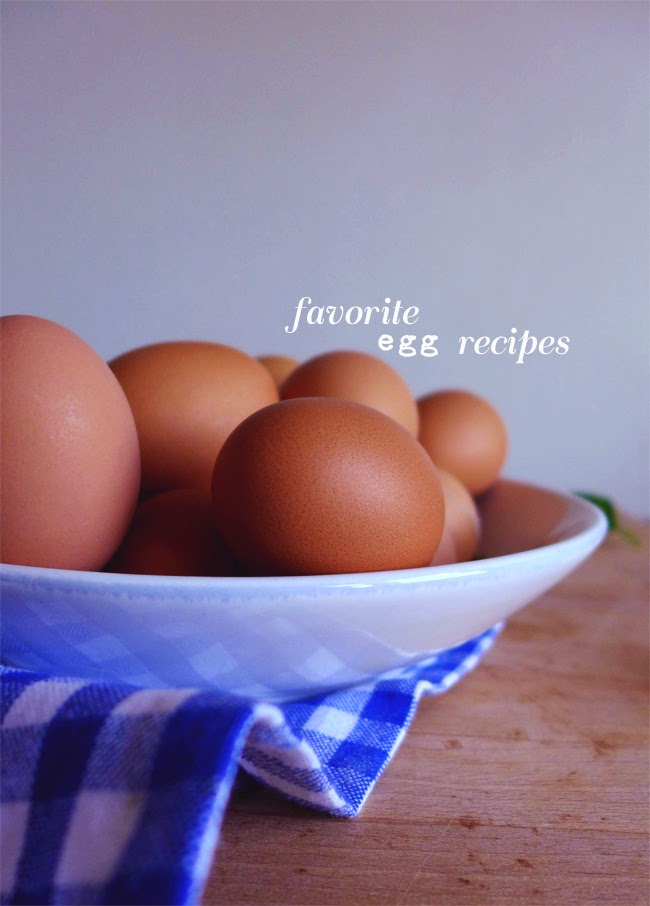 Favorite egg recipes