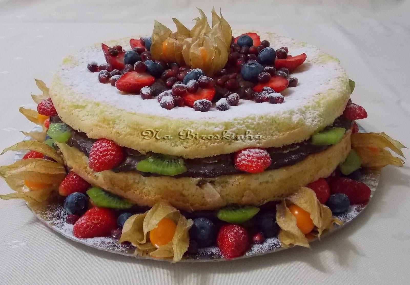 Naked cake   Receitas Gshow   Gshow