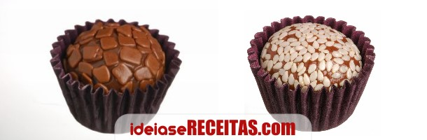 Mini bombons de chocolate