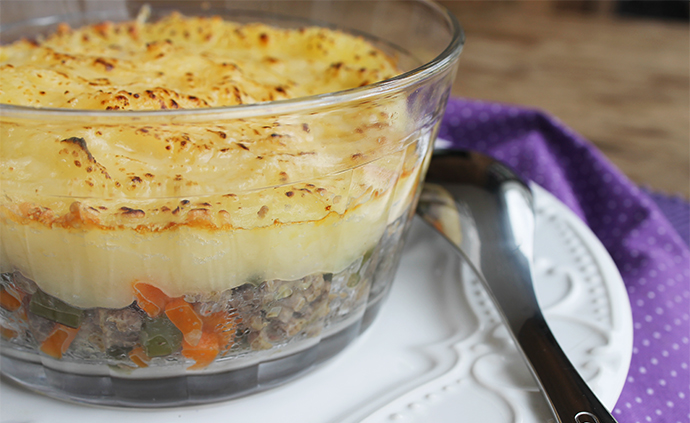 Shepherd's Pie ou Cottage Pie