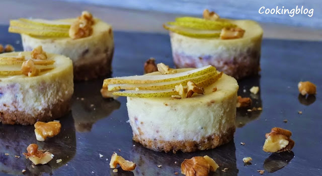 Doce ou salgado...Stilton Cheesecake | Sweet or savory...Stilton Cheesecake